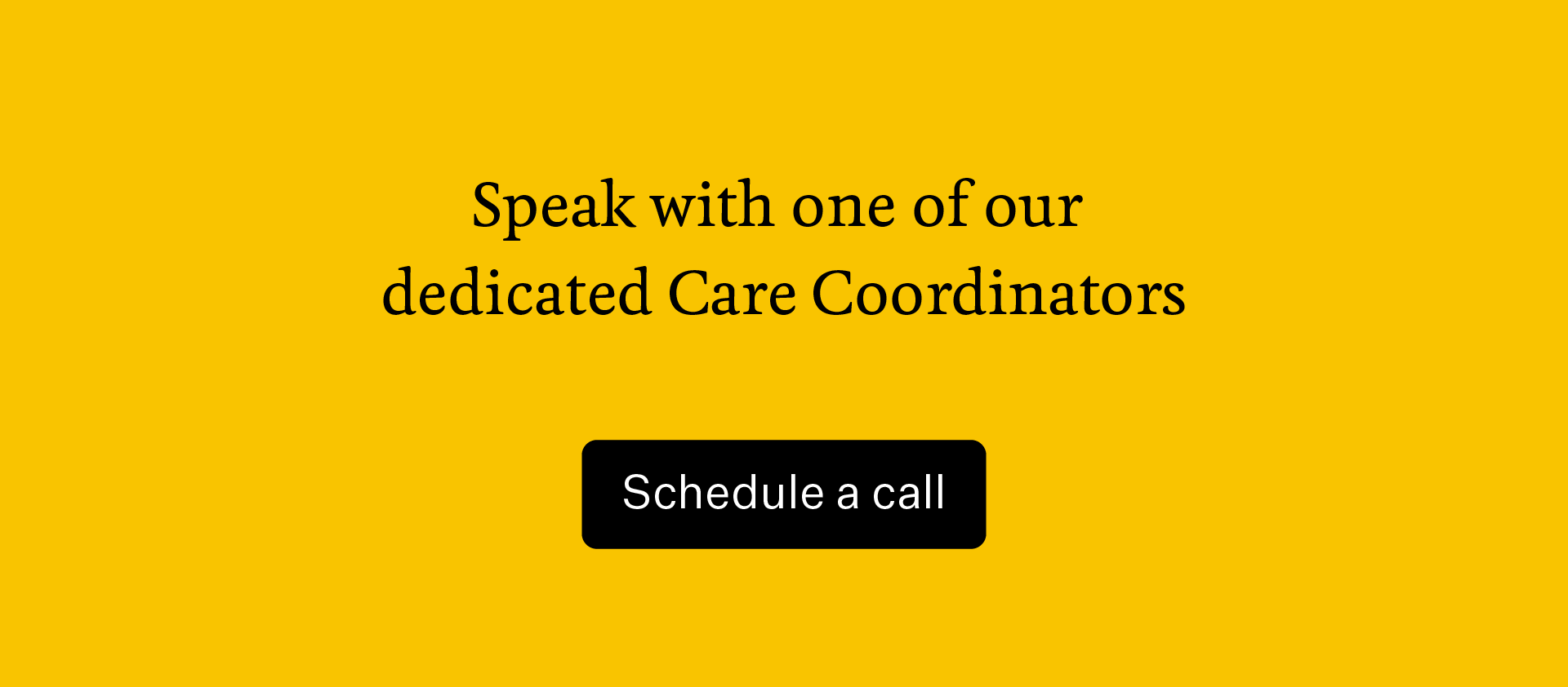 Find a therapist by contacting a Two Chairs Care Coordinator